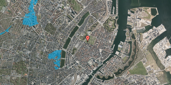 Oversvømmelsesrisiko fra vandløb på Gothersgade 100, 2. tv, 1123 København K