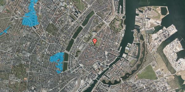 Oversvømmelsesrisiko fra vandløb på Gothersgade 101A, 1. , 1123 København K