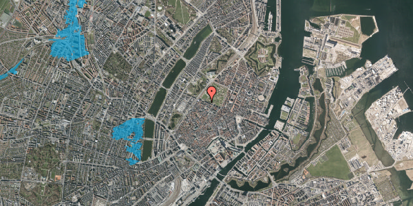 Oversvømmelsesrisiko fra vandløb på Gothersgade 105, 4. tv, 1123 København K