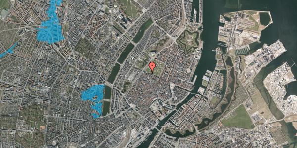 Oversvømmelsesrisiko fra vandløb på Gothersgade 107, st. 1, 1123 København K