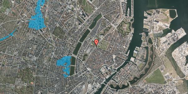 Oversvømmelsesrisiko fra vandløb på Gothersgade 129, st. , 1123 København K