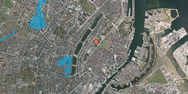 Oversvømmelsesrisiko fra vandløb på Gothersgade 135A, 2. , 1123 København K