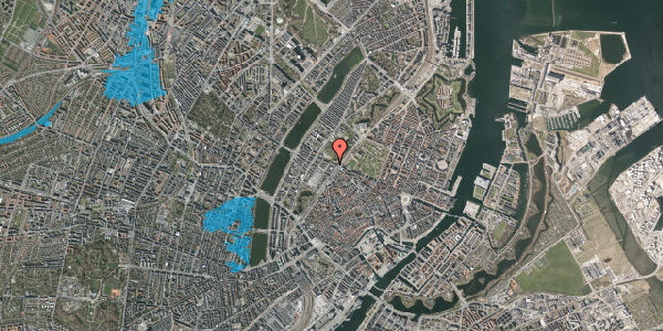 Oversvømmelsesrisiko fra vandløb på Gothersgade 135A, 3. , 1123 København K