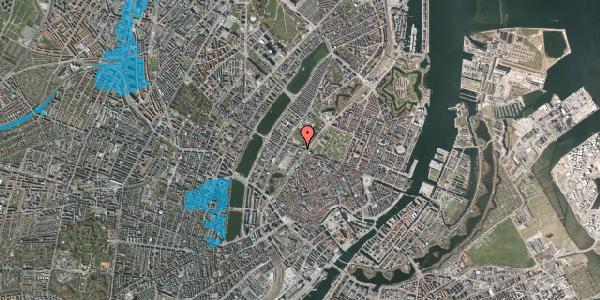 Oversvømmelsesrisiko fra vandløb på Gothersgade 135A, 4. , 1123 København K