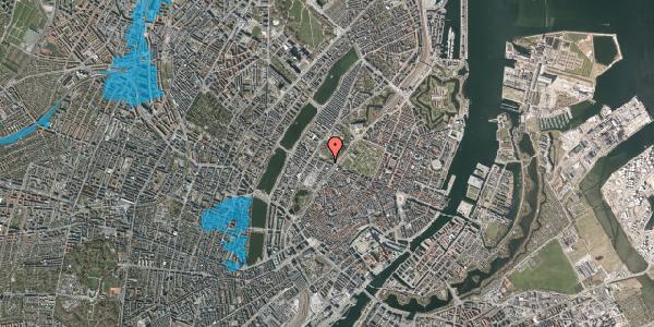 Oversvømmelsesrisiko fra vandløb på Gothersgade 135, kl. th, 1123 København K