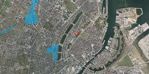 Oversvømmelsesrisiko fra vandløb på Gothersgade 139, kl. th, 1123 København K
