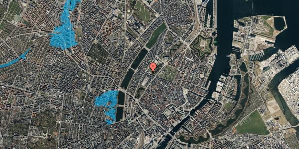Oversvømmelsesrisiko fra vandløb på Gothersgade 141, 3. 303, 1123 København K