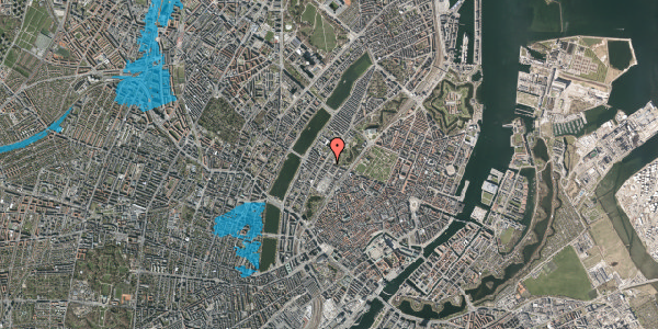 Oversvømmelsesrisiko fra vandløb på Gothersgade 147, st. tv, 1123 København K