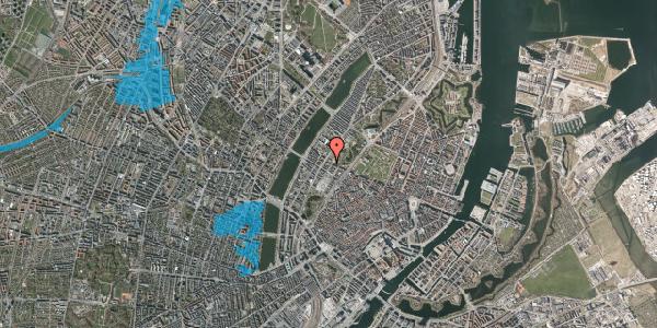 Oversvømmelsesrisiko fra vandløb på Gothersgade 147, 2. th, 1123 København K