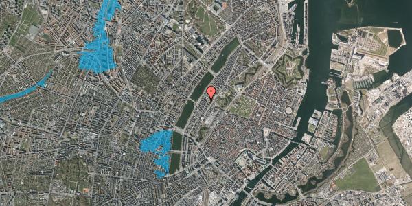Oversvømmelsesrisiko fra vandløb på Gothersgade 150, 2. th, 1123 København K