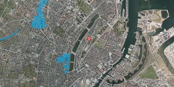 Oversvømmelsesrisiko fra vandløb på Gothersgade 151A, 1. , 1123 København K