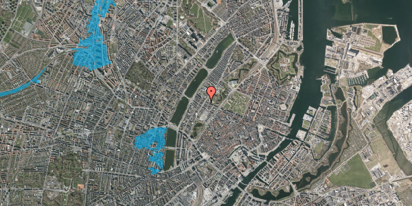 Oversvømmelsesrisiko fra vandløb på Gothersgade 151, kl. th, 1123 København K
