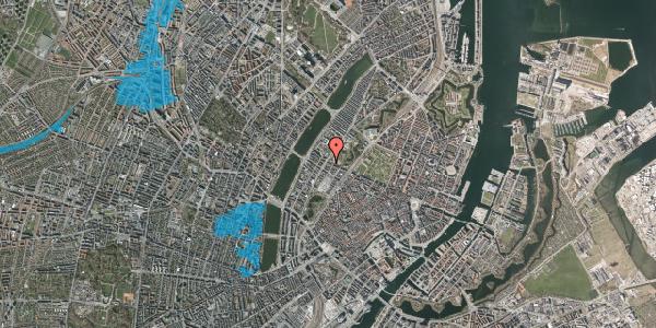 Oversvømmelsesrisiko fra vandløb på Gothersgade 151, 3. th, 1123 København K