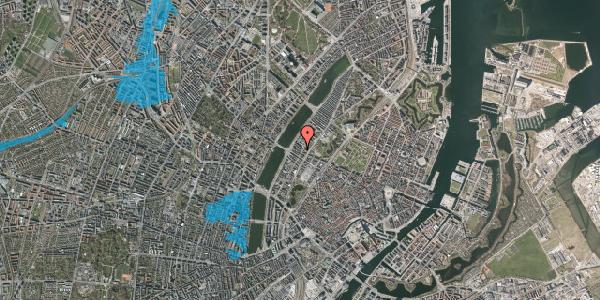 Oversvømmelsesrisiko fra vandløb på Gothersgade 152, 3. th, 1123 København K