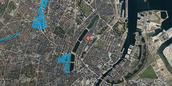 Oversvømmelsesrisiko fra vandløb på Gothersgade 155, 3. th, 1123 København K