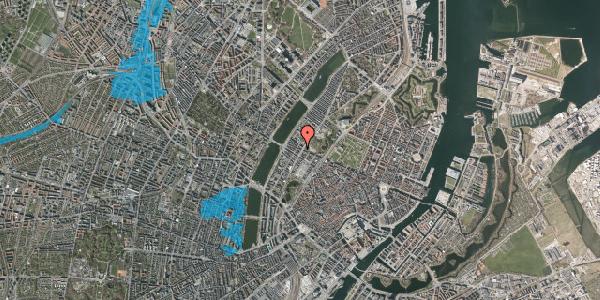 Oversvømmelsesrisiko fra vandløb på Gothersgade 155, 4. th, 1123 København K