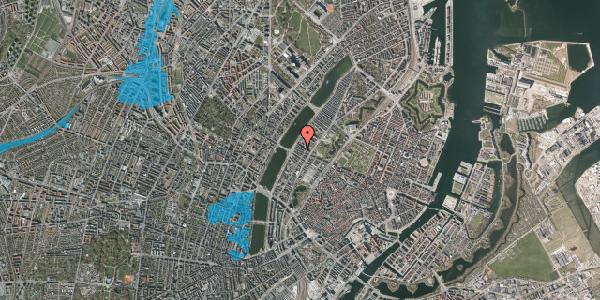 Oversvømmelsesrisiko fra vandløb på Gothersgade 156A, 5. th, 1123 København K