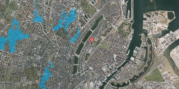 Oversvømmelsesrisiko fra vandløb på Gothersgade 157, 3. th, 1123 København K