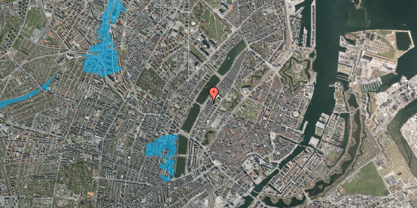 Oversvømmelsesrisiko fra vandløb på Gothersgade 158A, st. 2, 1123 København K