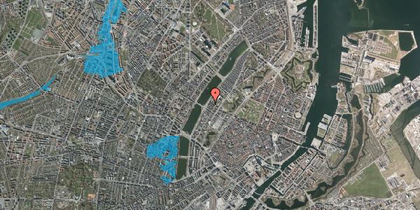 Oversvømmelsesrisiko fra vandløb på Gothersgade 158A, 1. 1, 1123 København K