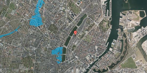 Oversvømmelsesrisiko fra vandløb på Gothersgade 158, 1. th, 1123 København K
