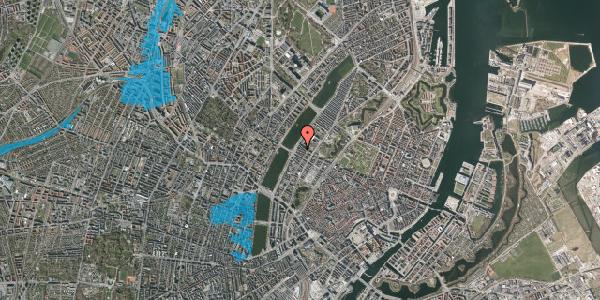 Oversvømmelsesrisiko fra vandløb på Gothersgade 158, 4. th, 1123 København K