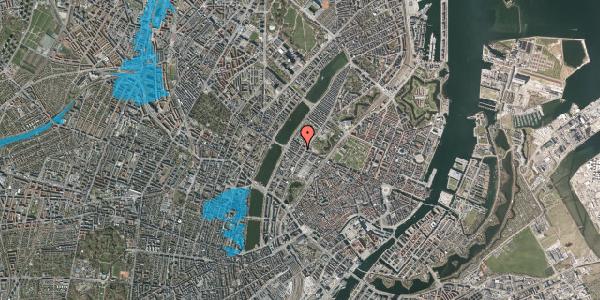 Oversvømmelsesrisiko fra vandløb på Gothersgade 159, 3. th, 1123 København K