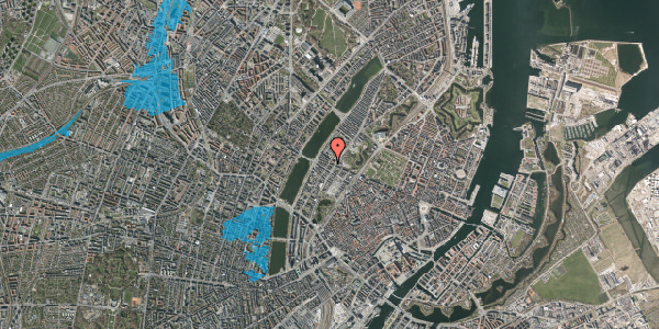 Oversvømmelsesrisiko fra vandløb på Gothersgade 159, 3. tv, 1123 København K