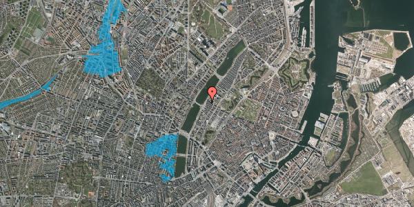 Oversvømmelsesrisiko fra vandløb på Gothersgade 160A, st. , 1123 København K