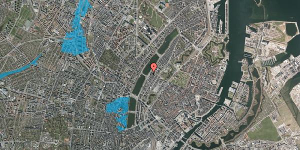 Oversvømmelsesrisiko fra vandløb på Gothersgade 160, 3. tv, 1123 København K