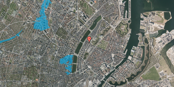 Oversvømmelsesrisiko fra vandløb på Gothersgade 161, 3. th, 1123 København K