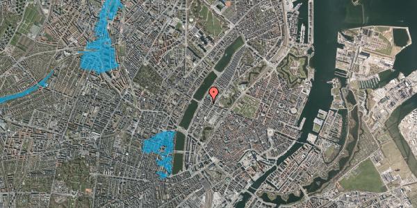 Oversvømmelsesrisiko fra vandløb på Gothersgade 161, 4. th, 1123 København K