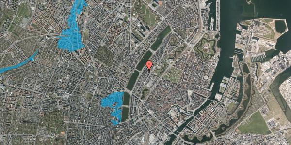 Oversvømmelsesrisiko fra vandløb på Gothersgade 165, kl. th, 1123 København K