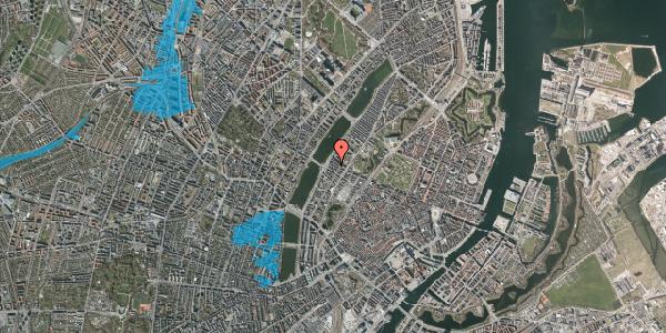 Oversvømmelsesrisiko fra vandløb på Gothersgade 167, 1. th, 1123 København K