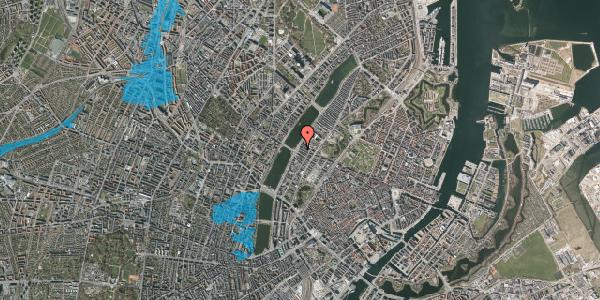 Oversvømmelsesrisiko fra vandløb på Gothersgade 175, 2. th, 1123 København K