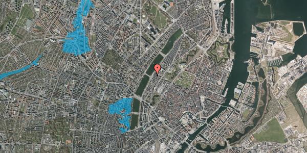 Oversvømmelsesrisiko fra vandløb på Gothersgade 175, 3. th, 1123 København K
