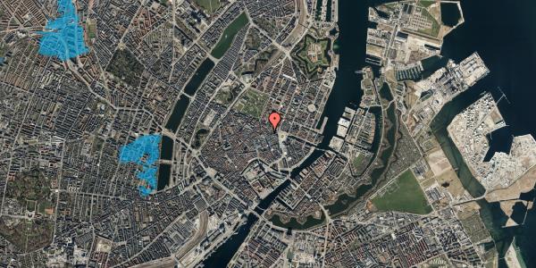 Oversvømmelsesrisiko fra vandløb på Grønnegade 14, kl. , 1107 København K