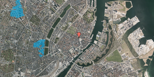 Oversvømmelsesrisiko fra vandløb på Grønnegade 30, st. , 1107 København K