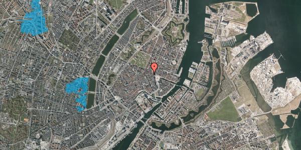 Oversvømmelsesrisiko fra vandløb på Grønnegade 31, 2. th, 1107 København K