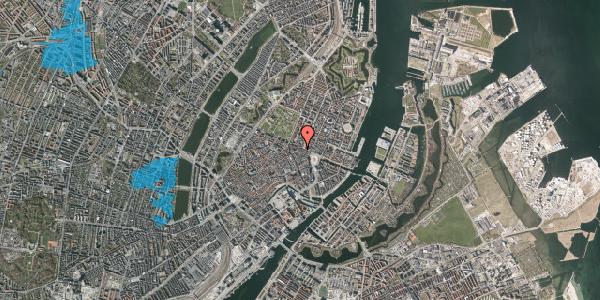 Oversvømmelsesrisiko fra vandløb på Grønnegade 41B, 1. , 1107 København K