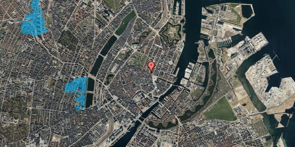 Oversvømmelsesrisiko fra vandløb på Grønnegade 41B, 5. , 1107 København K