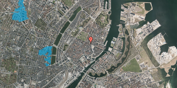 Oversvømmelsesrisiko fra vandløb på Grønnegade 41C, st. tv, 1107 København K