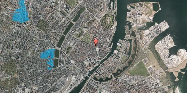 Oversvømmelsesrisiko fra vandløb på Grønnegade 43, kl. , 1107 København K