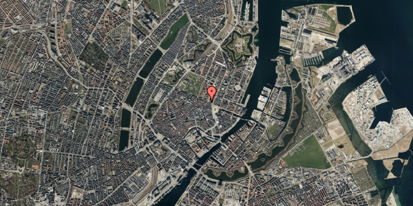 Oversvømmelsesrisiko fra vandløb på Grønnegade 43, st. 3, 1107 København K