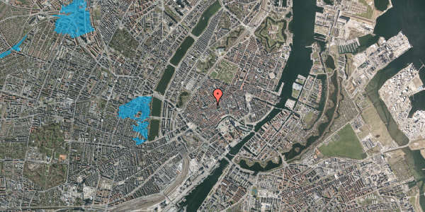 Oversvømmelsesrisiko fra vandløb på Gråbrødrestræde 18, 2. , 1156 København K