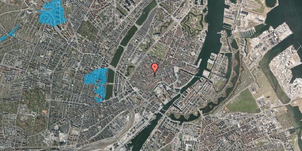 Oversvømmelsesrisiko fra vandløb på Gråbrødrestræde 23, 1. tv, 1156 København K
