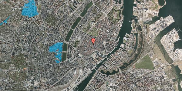 Oversvømmelsesrisiko fra vandløb på Gråbrødretorv 1, kl. , 1154 København K