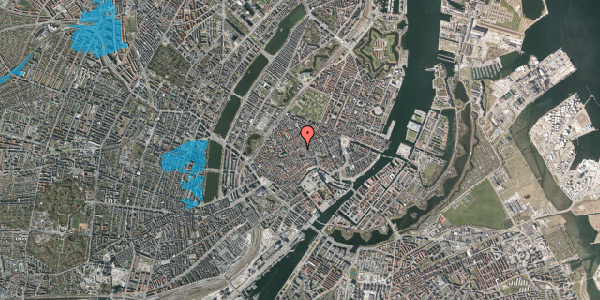 Oversvømmelsesrisiko fra vandløb på Gråbrødretorv 3, kl. , 1154 København K