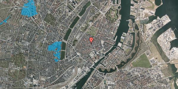 Oversvømmelsesrisiko fra vandløb på Gråbrødretorv 3, 2. , 1154 København K