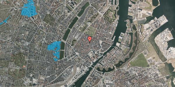 Oversvømmelsesrisiko fra vandløb på Gråbrødretorv 4, st. tv, 1154 København K